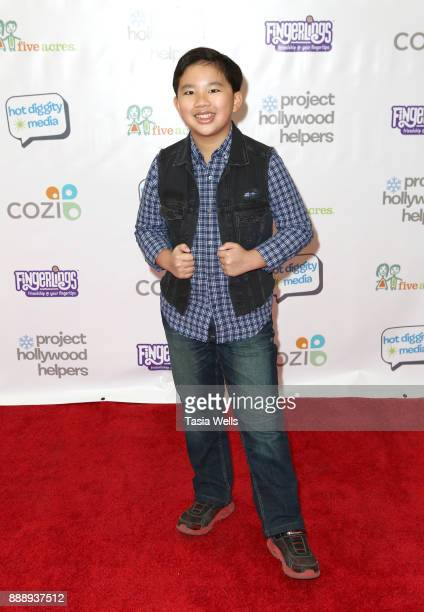 Albert Tsai at Project Hollywood Helpers at Skirball Cultural Center on December 9 2017 in Los Angeles California