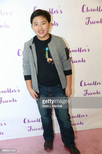 Albert Tsai attends Chandler's Friends Toy Drive and Wrapping Party at Los Angeles Ballet Academy on December 10 2017 in Encino California