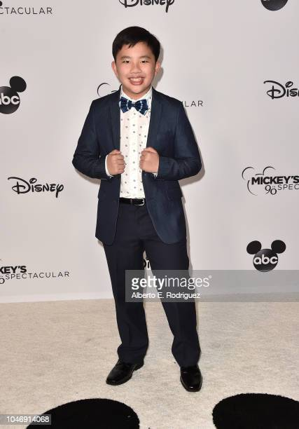 Albert Tsai attends Mickey's 90th Spectacular at The Shrine Auditorium on October 6 2018 in Los Angeles California
