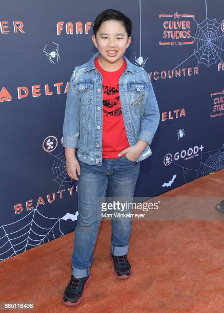 Albert Tsai attends the GOOD Foundation Halloween Bash presented by Beautycounter Delta Air Lines and Farfetch at Culver Studios on October 22 2017...