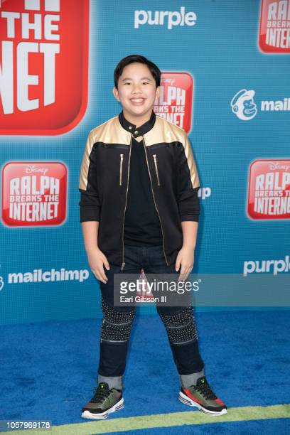 Albert Tsai attends the Premiere Of Disney's 'Ralph Breaks The Internet' on November 5 2018 in Los Angeles California