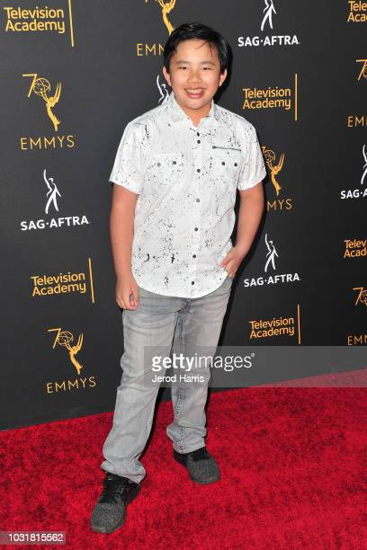 Albert Tsai attends the Television Academy and SAGAFTRA CoHost Dynamic Diverse Emmy Celebration at Saban Media Center on September 11 2018 in North...