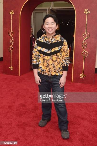 Albert Tsai attends the World Premiere of Disney's 'Dumbo' at the El Capitan Theatre on March 11 2019 in Los Angeles California