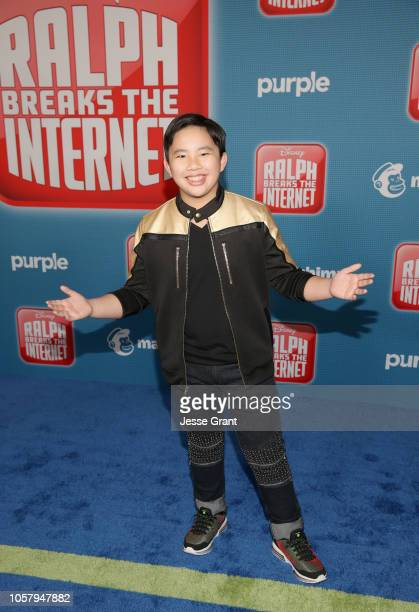 Albert Tsai attends the World Premiere of Disney's 'RALPH BREAKS THE INTERNET' at the El Capitan Theatre on November 5 2018 in Hollywood California