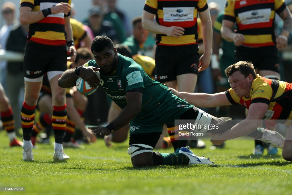 GBR: Richmond v London Irish - Greene King IPA Championship