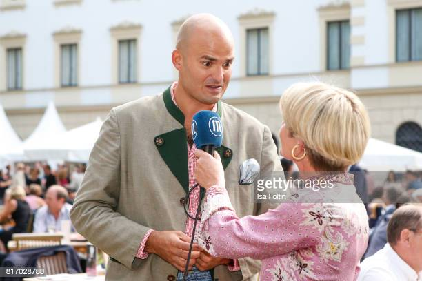 Albert von Thurn und Taxis during the Amy McDonald concert at the Thurn Taxis Castle Festival 2017 on July 17 2017 in Regensburg Germany