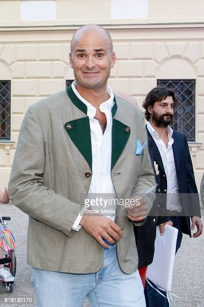 Albert von thurn und Taxis during the Haindling concert at the Thurn Taxis Castle Festival 2017 on July 19 2017 in Regensburg Germany