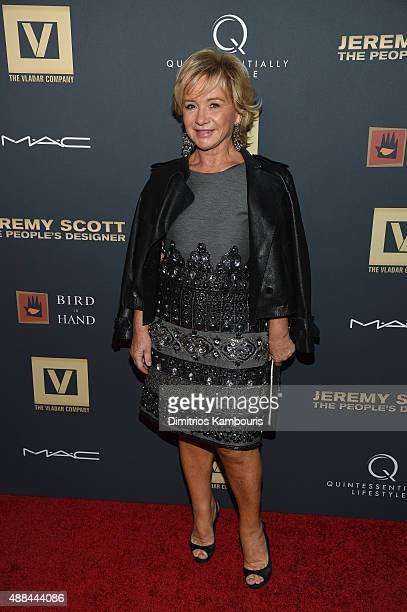 Alberta Ferretti attends 'Jeremy Scott The People's Designer' New York Premiere at The Paris Theatre on September 15 2015 in New York City