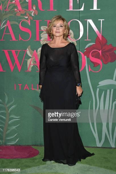 Alberta Ferretti attends the Green Carpet Fashion Awards during the Milan Fashion Week Spring/Summer 2020 on September 22 2019 in Milan Italy