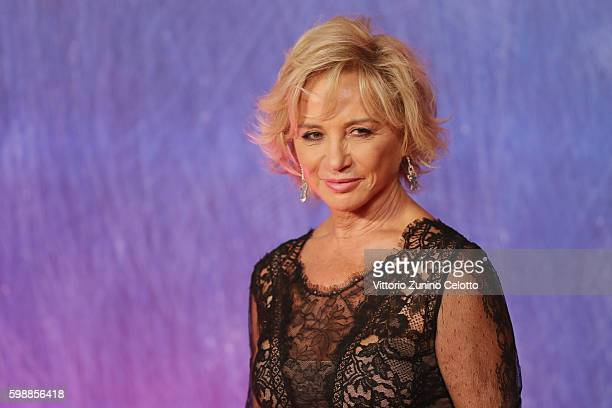 Alberta Ferretti attends the premiere of 'Franca Chaos And Creation' during the 73rd Venice Film Festival at Sala Giardino on September 2 2016 in...