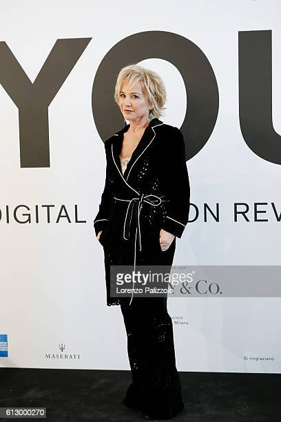 Alberta Ferretti attends 'You The Digital Fashion Revolution' exhibition opening at Triennale di Milano on October 6 2016 in Milan Italy