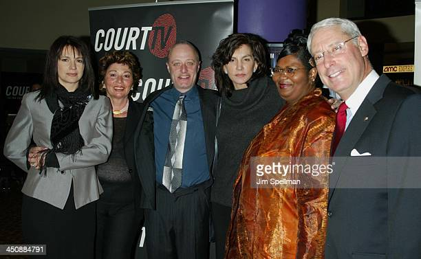 Alberta Watson executive producer Anne Carlucci director Graeme Campbell Mercedes Ruehl Dorothy Watson CEO of Court TV Henry Schleiff