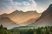 Alberta wilderness near Banff