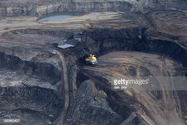 alberta's oilsands - alberta stock pictures, royalty-free photos & images