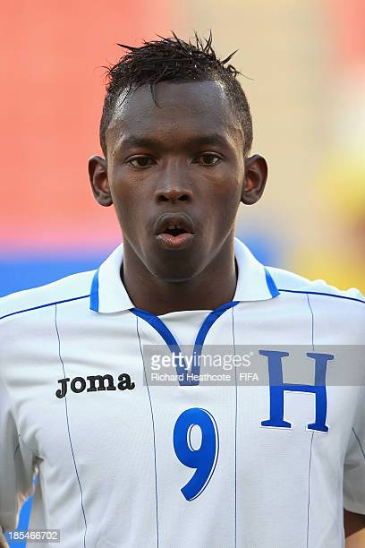 Alberth Elis of Honduras during the FIFA U17 World Cup UAE 2013 Group A match between Slovakia and Honduras at the Mohamed Bin Zayed Stadium on...