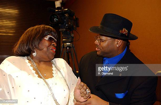 Albertina Walker and Jimmy Jam during The Recording Academy Presents 2005 GRAMMY Salute to Gospel Music at West Angeles Church in Los Angeles...