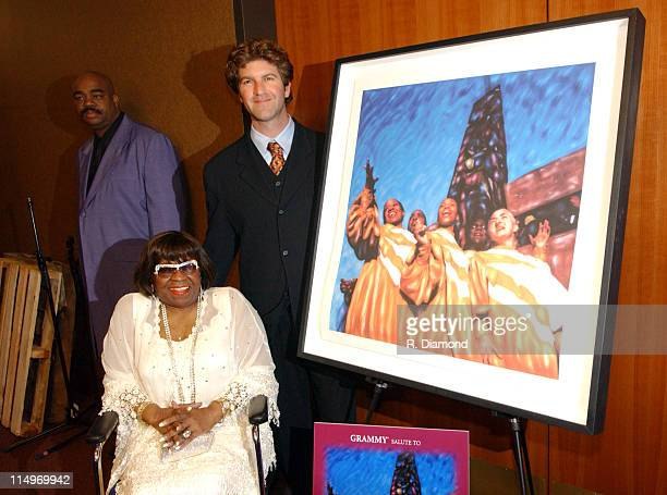 Albertina Walker and Robert Sturman artist during The Recording Academy Presents 2005 GRAMMY Salute to Gospel Music at West Angeles Church in Los...