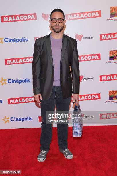 Alberto Agnesi attends the 'Malacopa' Mexico City premiere at Cinepolis Plaza Carso on September 18 2018 in Mexico City Mexico