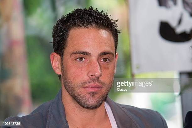 Alberto Agnesi attends the press conference of the theater play Crash at the restaurant Giornale on March 7 2011 in Mexico City Mexico
