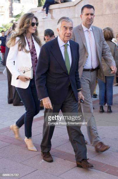 Alberto Alcocer and Margarita Hernandez attend Press Bullfight at Las Ventas Bullring on May 19 2017 in Madrid Spain