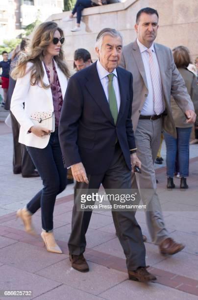 Alberto Alcocer and Margarita Hernandez attend Press Bullfight at Las Ventas Bullring on May 19 2017 in Madrid Spain
