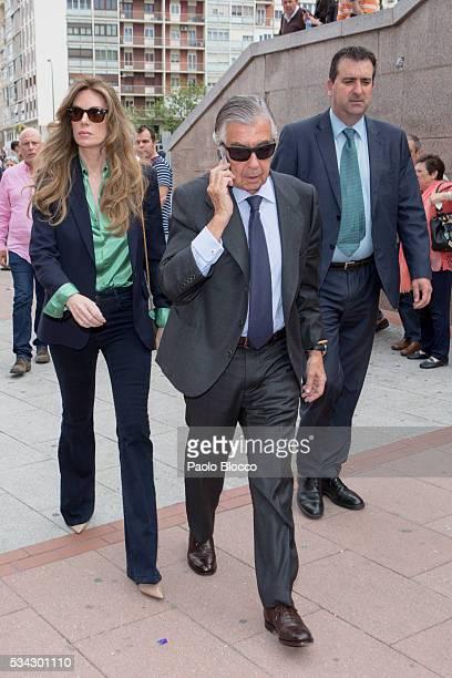 Alberto Alcocer attends bullfighting during San Isidro Fair at Las Ventas Bullring on May 25 2016 in Madrid Spain