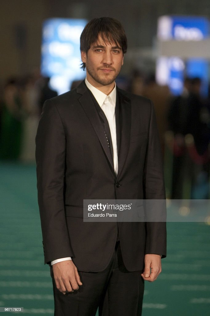 Alberto Ammann attends Goya prizes photocall at Madrid City Hall on February 14, 2010 in Madrid, Spain.