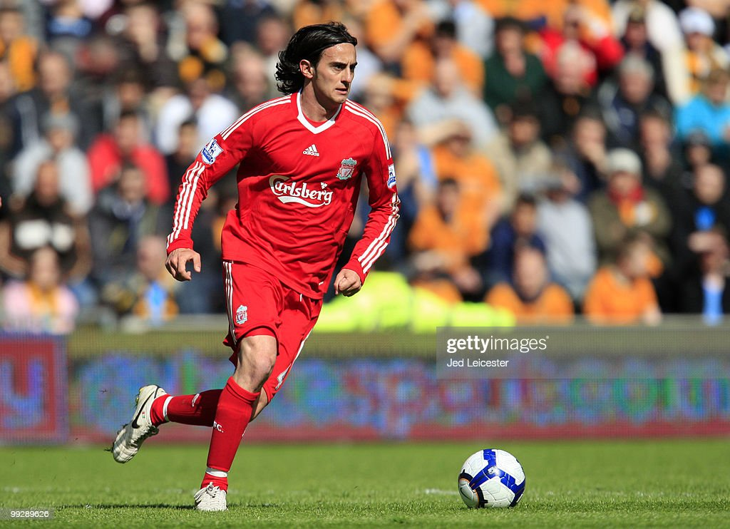Alberto Aquilani of Liverpool during the Barclays Premier League match between Hull City and Liverpool at the KC Stadium on May 9, 2010 in Hull, England.