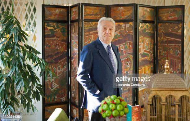 Alberto Arbasino Italian writer Carmiano Italy 9th March 2014