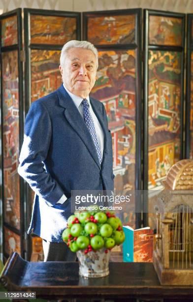 Alberto Arbasino Italian writer Como Italy 9th March 2014