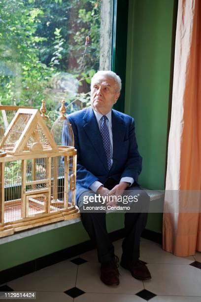 Alberto Arbasino Italian writer Erba Italy 9th March 2014
