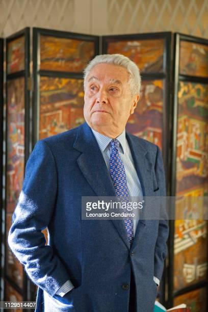 Alberto Arbasino Italian writer Milan Italy 9th March 2014