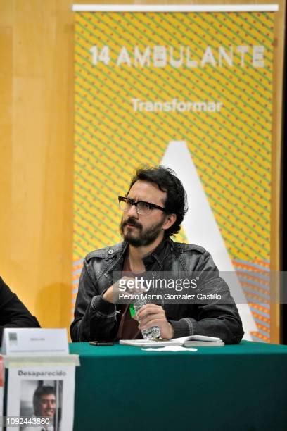Alberto Arnaut director of the documentary 'Hasta los Dientes' or 'Armed to the Teeth' attends the screening at Camara de Diputados January 10 2019...