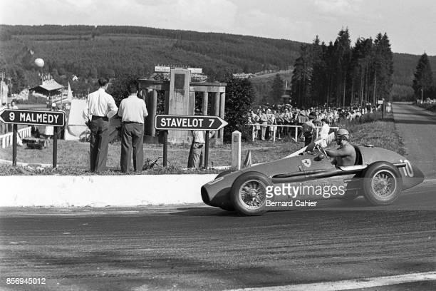 Alberto Ascari, Ferrari 500, Grand Prix of Belgium, Circuit de Spa-Francorchamps, 21 June 1953.