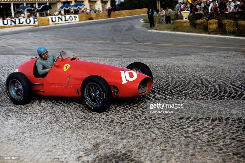 Alberto Ascari, Grand Prix Of France : News Photo