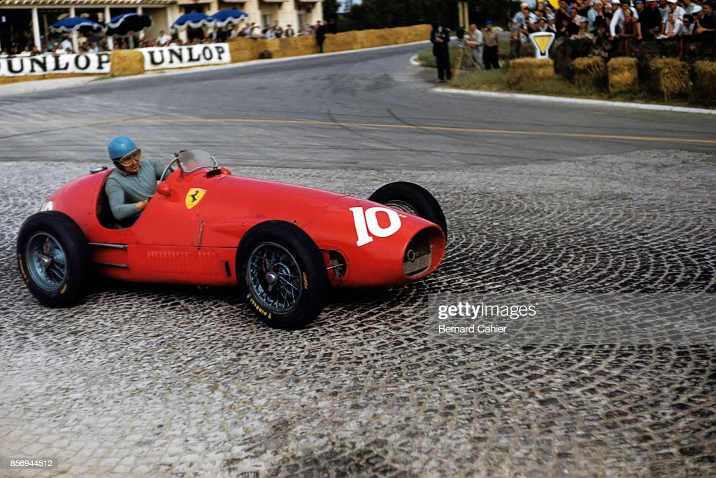 Alberto Ascari, Ferrari 500, Grand Prix of France, Reims-Gueux, 05 July 1953.