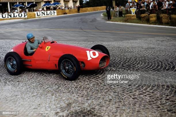 Alberto Ascari, Ferrari 500, Grand Prix of France, Reims-Gueux, 05 July 1953.