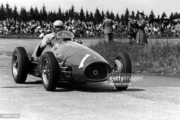 Alberto Ascari, Ferrari 500, Grand Prix of Germany, Nurburgring, 02 August 1953.