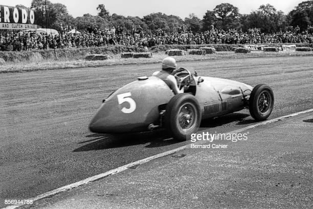Alberto Ascari, Ferrari 500, Grand Prix of Great Britain, Silverstone Circuit, 18 July 1953.
