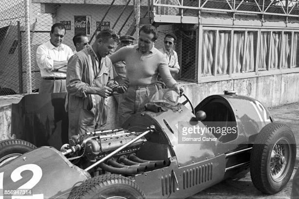 Alberto Ascari, Ferrari 500, Grand Prix of Italy, Autodromo Nazionale Monza, 07 September 1952.