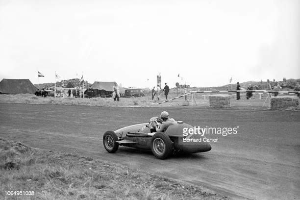 Alberto Ascari, Ferrari 500, Grand Prix of the Netherlands, Circuit Park Zandvoort, 07 June 1953. Alberto Ascari on the way to victory in the 1953...