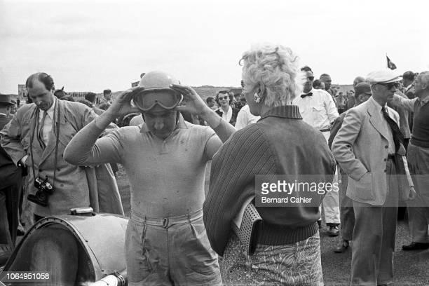 Alberto Ascari, Ferrari 500, Grand Prix of the Netherlands, Circuit Park Zandvoort, 07 June 1953. 1953 Dutch Grand Prix race winner Alberto Ascari on...