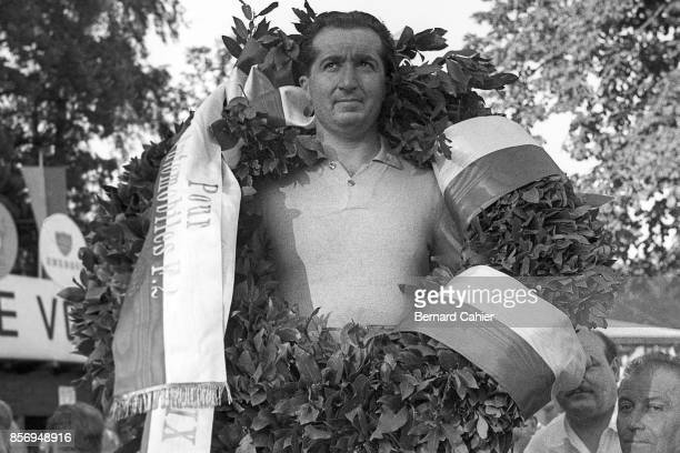 Alberto Ascari, Grand Prix of Switzerland, Circuit Bremgarten, 23 August 1953. Alberto Ascari victorious in the 1953 Swiss Grand Prix in Bremgarten.