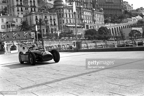 Alberto Ascari, Lancia D50, Grand Prix of Monaco, Circuit de Monaco, 22 May 1955. Alberto Ascari during practice in what would be his final race, the...