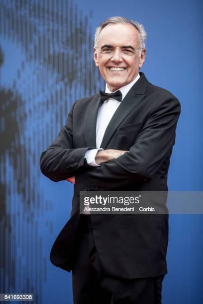 Alberto Barbera attends the The Franca Sozzani Award during the 74th Venice Film Festival at Sala Giardino on September 1 2017 in Venice Italy