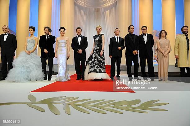 Alberto Barbera Kate Beckinsale Tim Burton Kristin Scott Thomas Russell Crowe Cate Blanchett Emmanuel Carrere Alexandre Desplats Benicio del Toro...