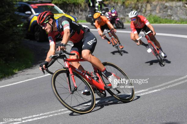 Alberto Bettiol of Italy and Bmc Racing Team / during the 75th Tour of Poland 2018 Stage 4 a 1787km from Jaworzno to Szczyrk 643m on August 7 2018 in...