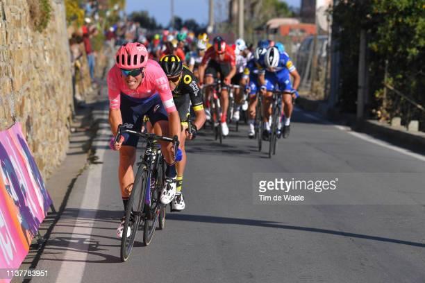 Alberto Bettiol of Italy and Team EF Education First / Poggio di San Sanremo / during the 110th MilanoSanremo 2019 a 291km race from Milano to...
