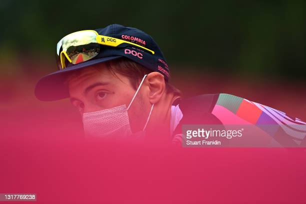 Alberto Bettiol of Italy and Team EF Education - Nippo at start during the 104th Giro d'Italia 2021, Stage 6 a 160km stage from Grotte di Frasassi to...