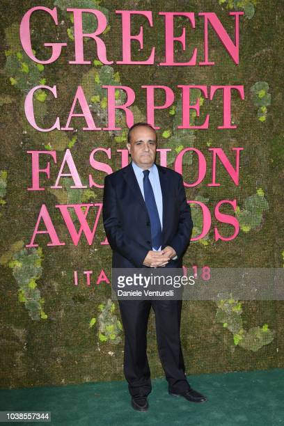 Alberto Bonisoli attends the Green Carpet Fashion Awards at Teatro Alla Scala on September 23 2018 in Milan Italy